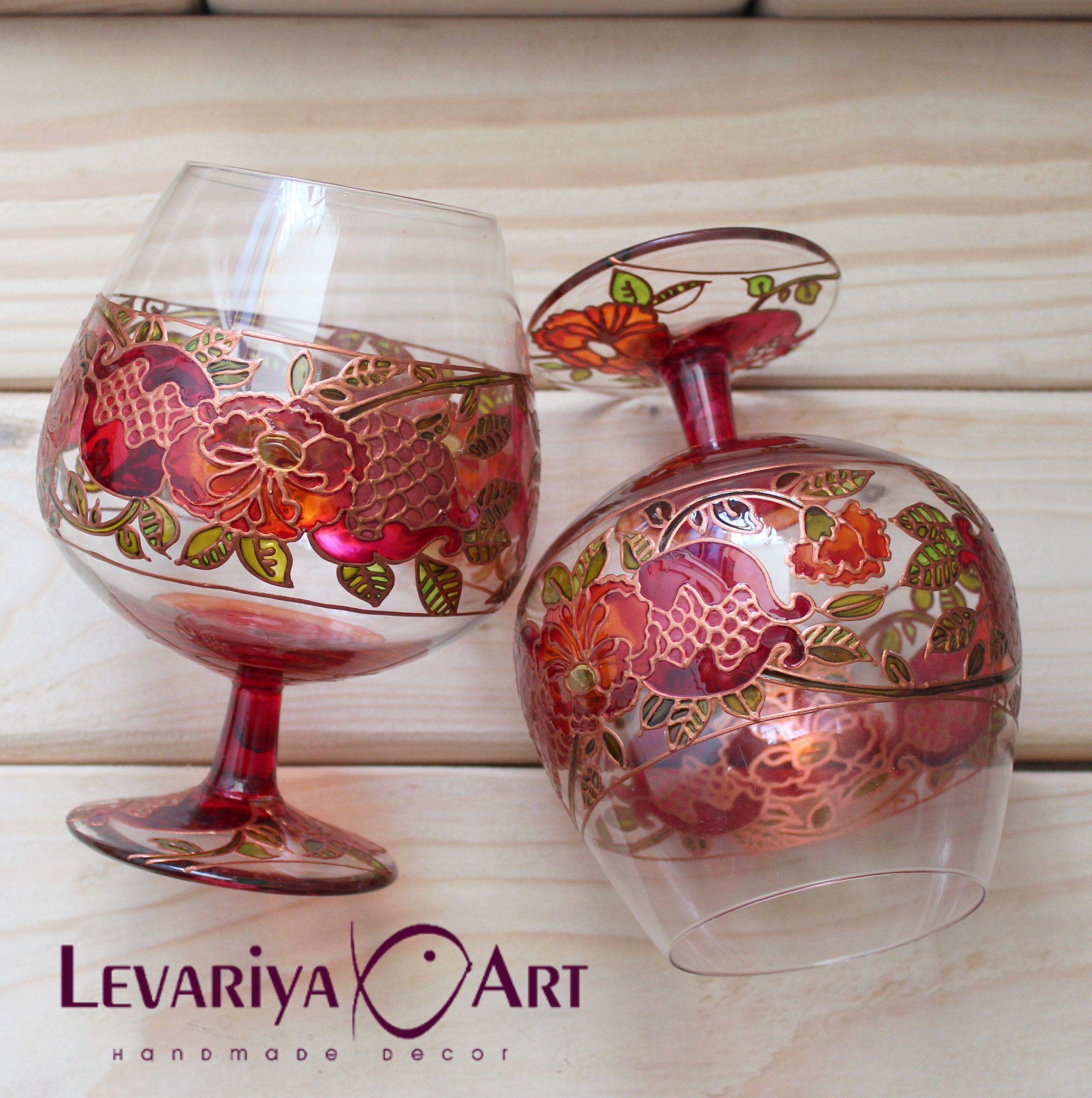 Pin By Levariya On Botanique Wedding Glasses Cognac Whiskey Wine Glasses
