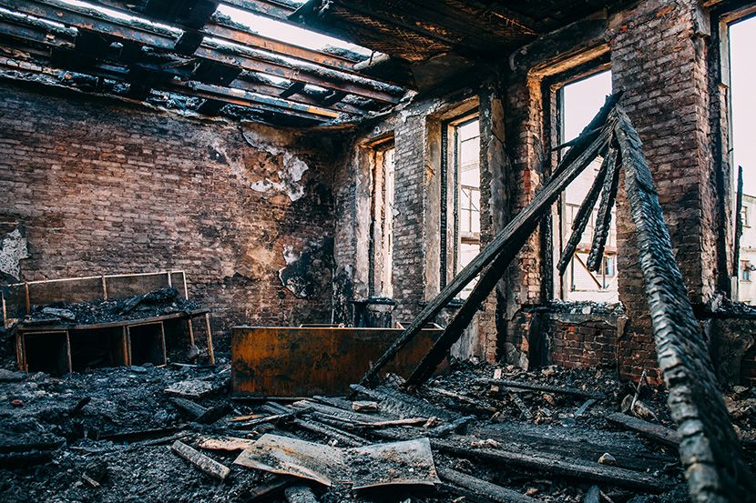 My Investment Property Burned Down—What Now?! | Blog in 2020 | Smoke damage,  Real estate, Fire