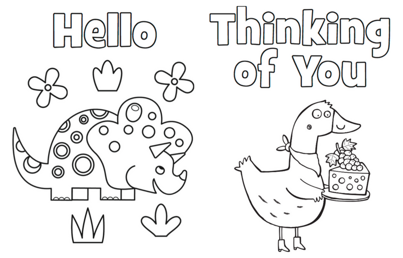 Printable Coloring Cards Highlights Free Printable Cards Printable Coloring Cards Printable Cards