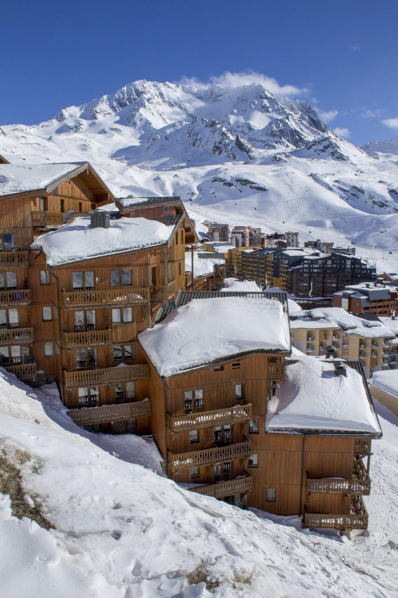 Balcons de Val Thorens, Val Thorens, France #snow #mountains #france #alps | Mountains, Alps, Travel