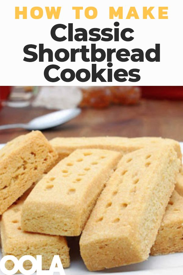How To Make Classic Shortbread Cookies is part of Shortbread cookies - Classic shortbread cookies only have a few ingredients that you probably already have on hand  But, you can also get a little creative and make then your own by adding extracts, zest, fruit, or even chocolate chips