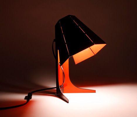 Nona Lamp By Hiroshi Tsunoda Lamp Metal Lamp Shade Metal Sheet Design