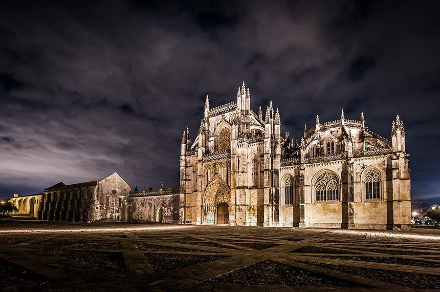The Batalha Monastery by Nuno Trindade, via 500px, Portugal