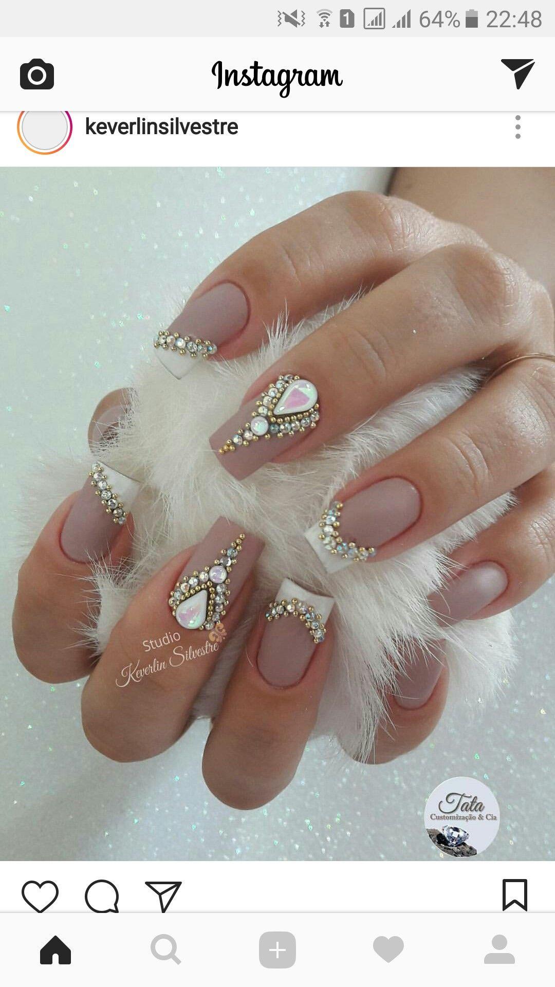 Pin de ANTAGORY en UÑAS CREACIONES | Pinterest | Diseños de uñas ...
