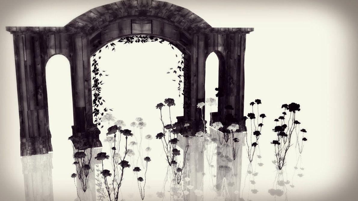 mmd death flower stage dl link by mizukiyamada digitalart