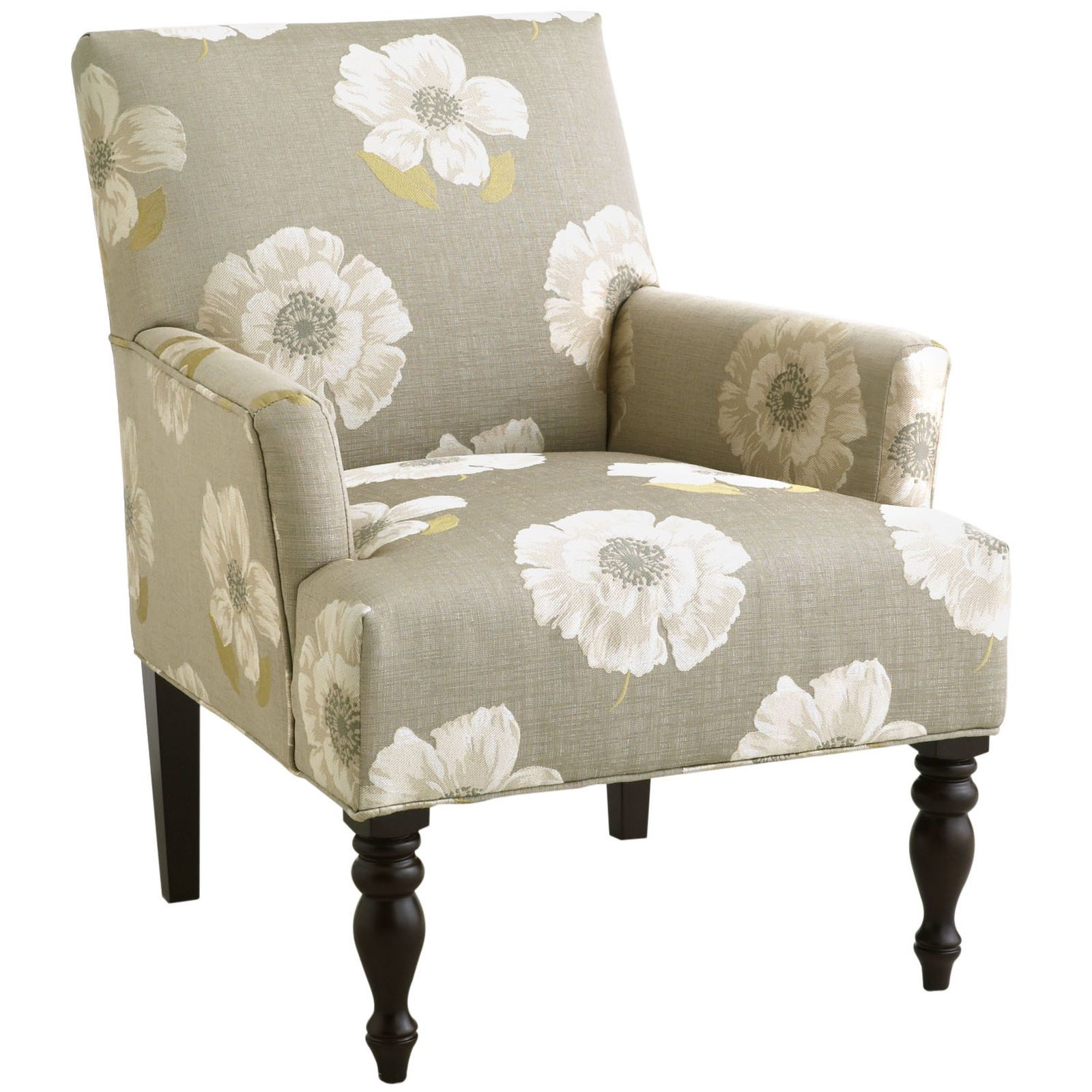 Liliana Armchair - Floral Ivory | Pier 1 Imports | module1_patterns ...