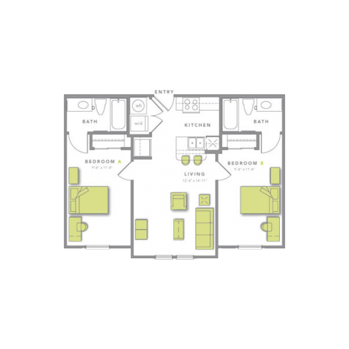 Floor Plans (With images) Floor plans, Student house