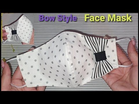 Photo of New 🎀 Bow Style Face Mask Tutorial | Make Breathable Easy Face Mask