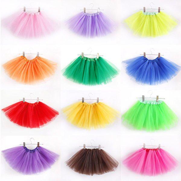120606dc5 Falda Tutu para Ballet en Tul Malla de 3 Capas Baile - Talla Niñas ...