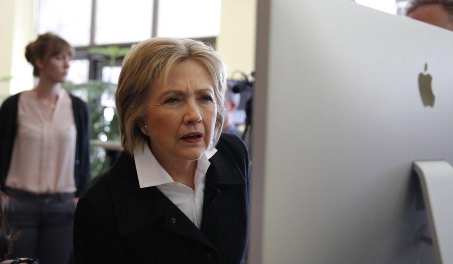 Things Hillary Googles