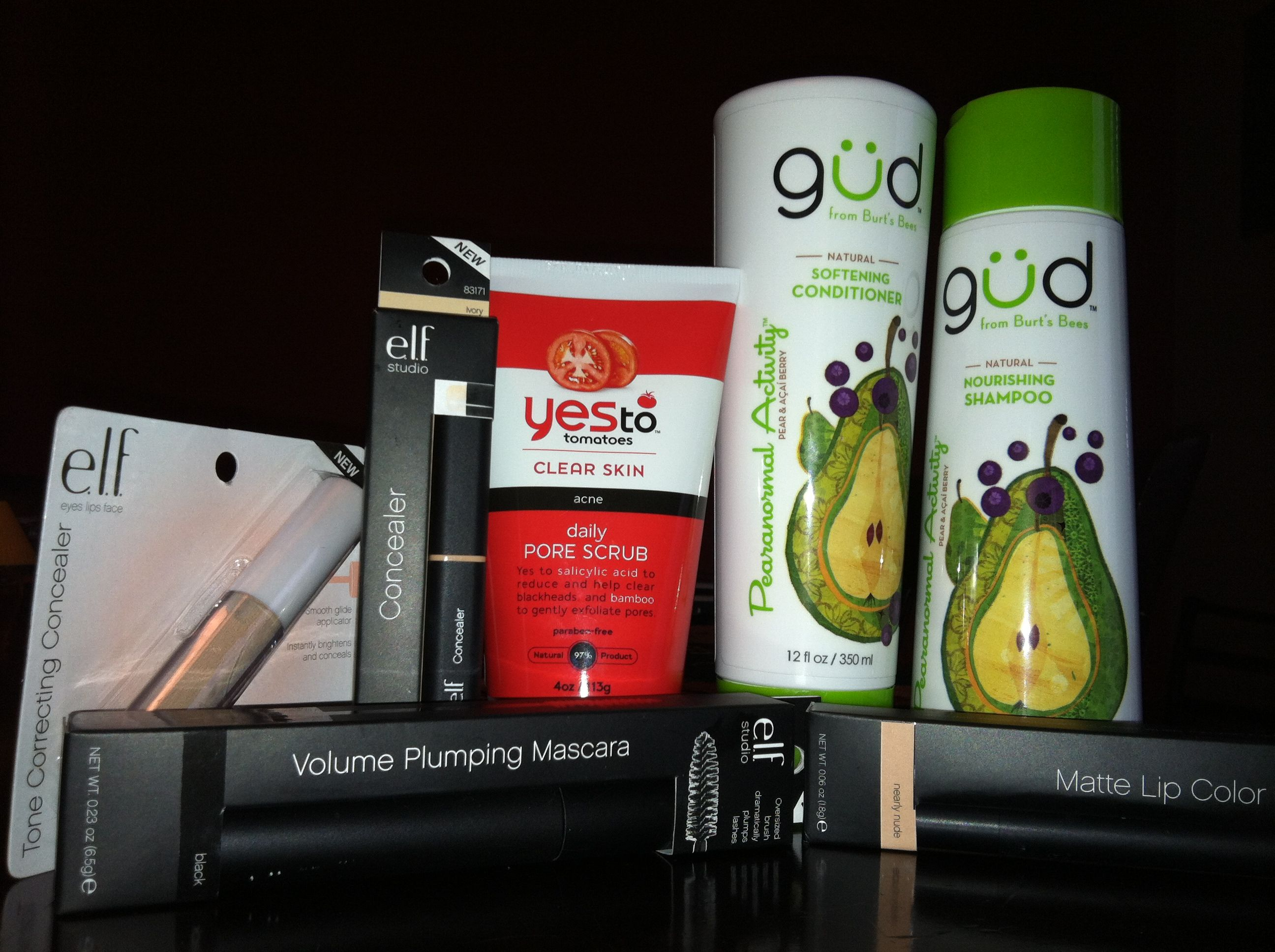 Cruelty free products!! All from target and at great