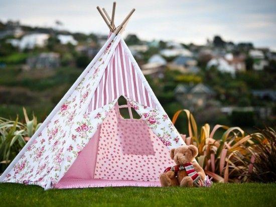 Tipi Zelt selber bauen und für eine private