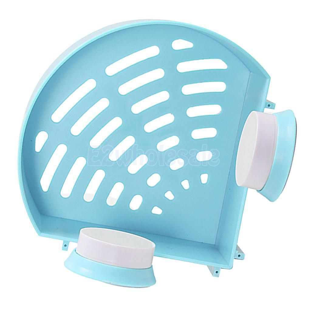 Shower Caddy Shelf Corner Rack Storage Basket Hanger Sucker ...
