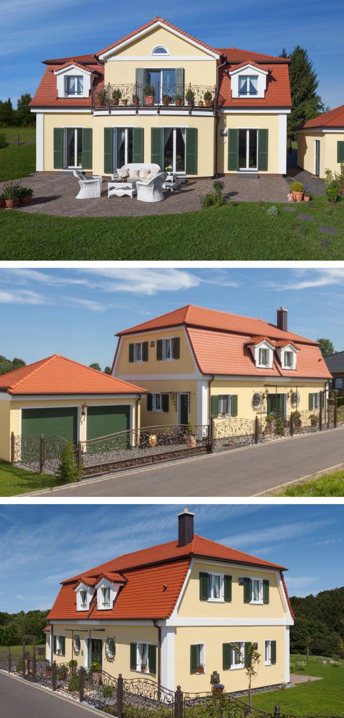 Landhaus Mit Mansarddach Fertighaus Lieser Von Baufritz