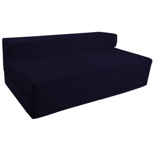 Fold Out Foam Double Guest Z Bed Chair Folding Mattress Sofa Bed