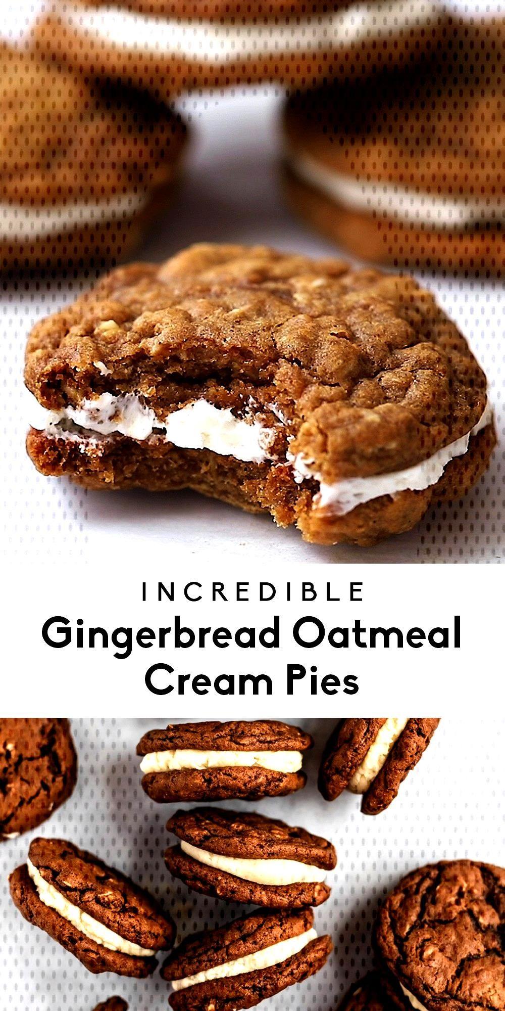 Incredible Gingerbread Oatmeal Cream Pies - Recipes -