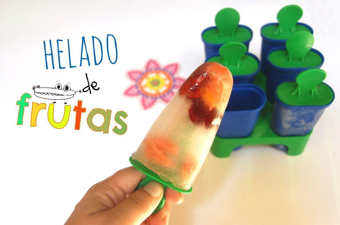 Helado facil y rapido diy yotoko by manualidades infantiles manualidades de verano cocina - Manualidades cocina para ninos ...