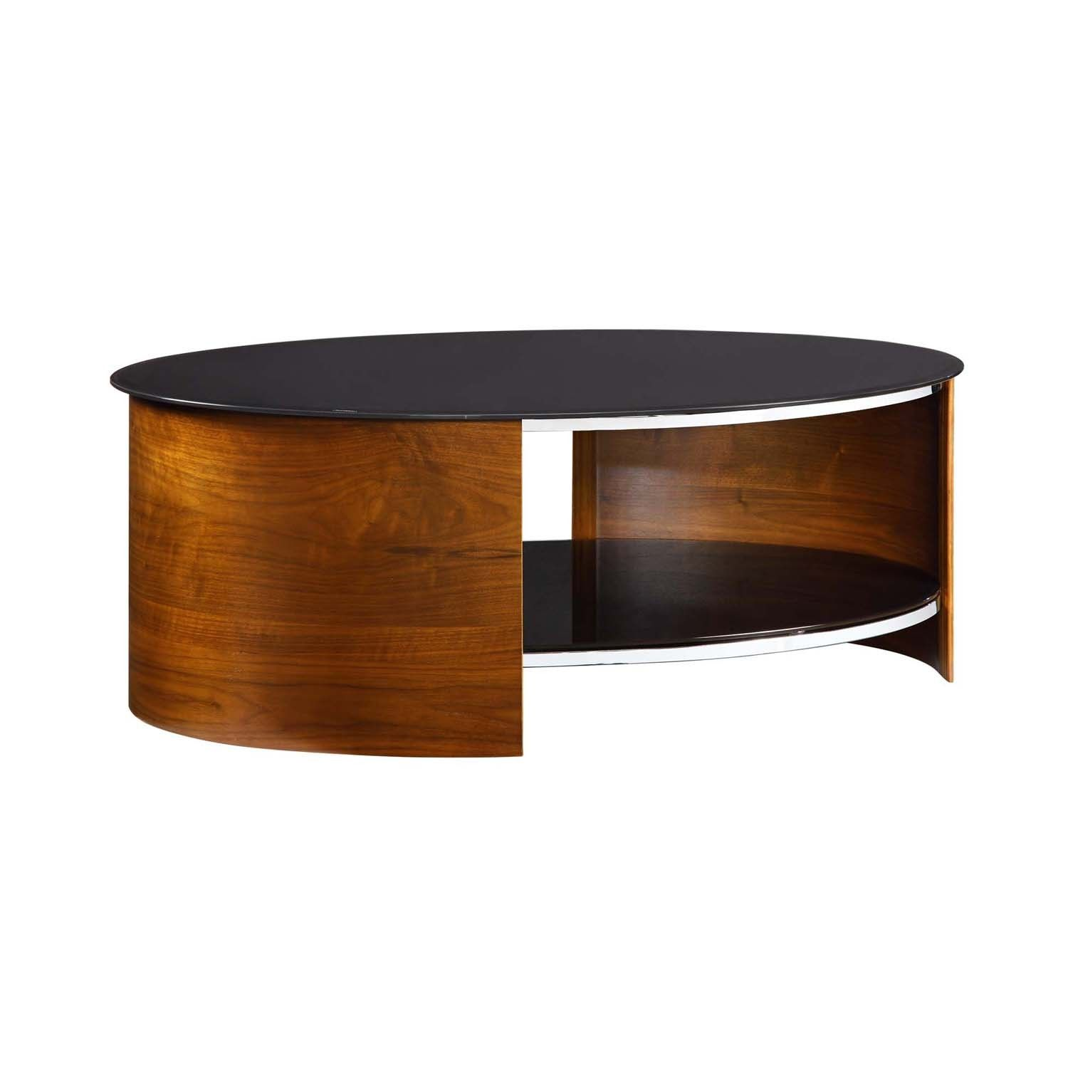 25 Elegant Oval Coffee Table Designs Made Of Gl And Wood Pinterest Tables Design