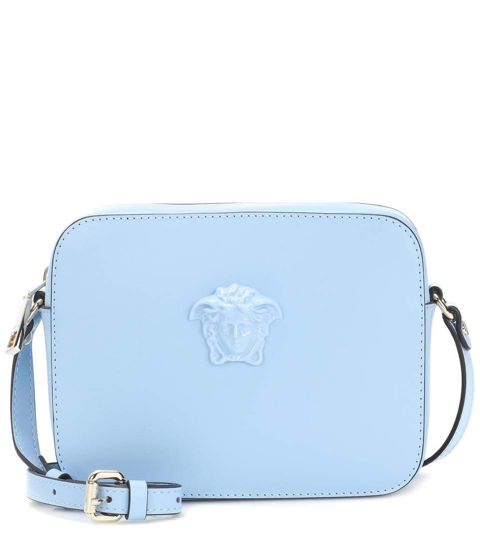 2ac50fe3c8e8 VERSACE Palazzo leather shoulder bag.  versace  bags  shoulder bags ...