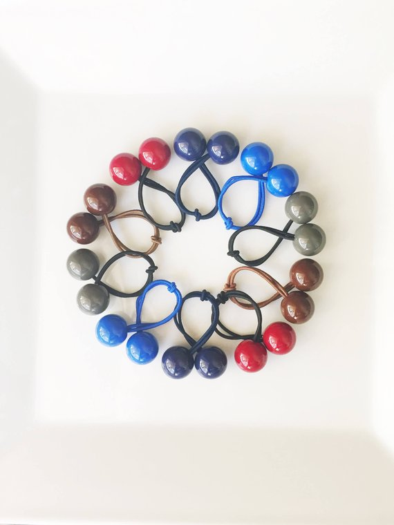 Large Hair Ties   Ball Hair Ties   Bobble Hair Ties   Ponytail Holders    Large Hair Bobbles   Retro d33a962d558