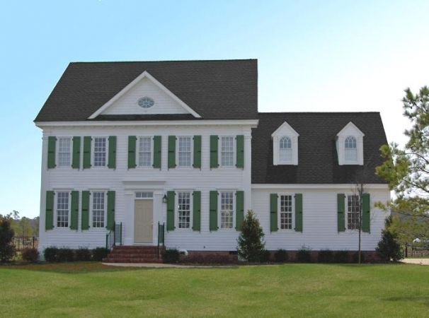William Poole Colonial House Plans Colonial House House Plans