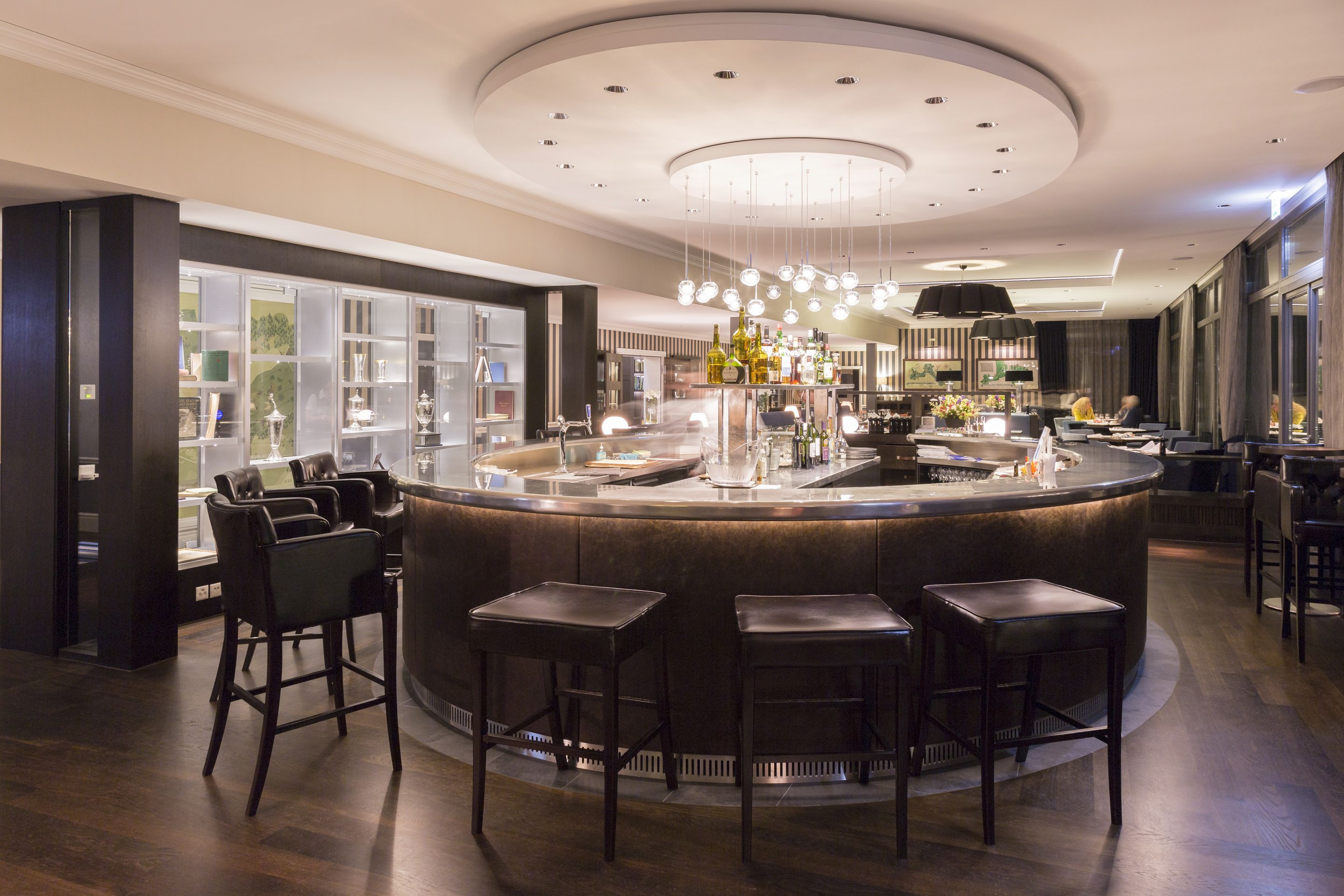 Golf Country Club Zurich Club House Game Room Bar Interior Architecture