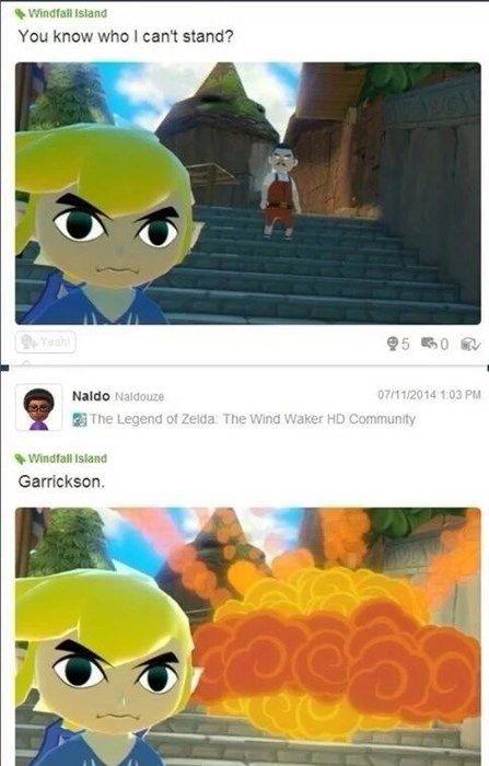 Goodbye Garrickson Legend Of Zelda Pinterest Legend Of Zelda