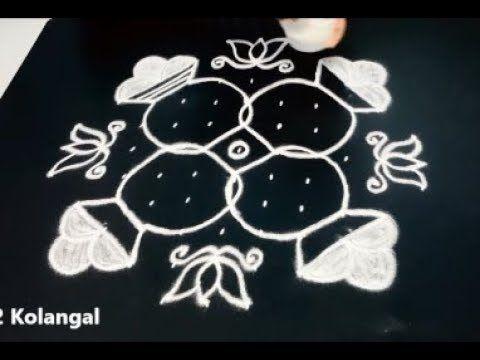 sankranthi bhogi kundalu rangoli || 2018 pongal special kolam || festiva...