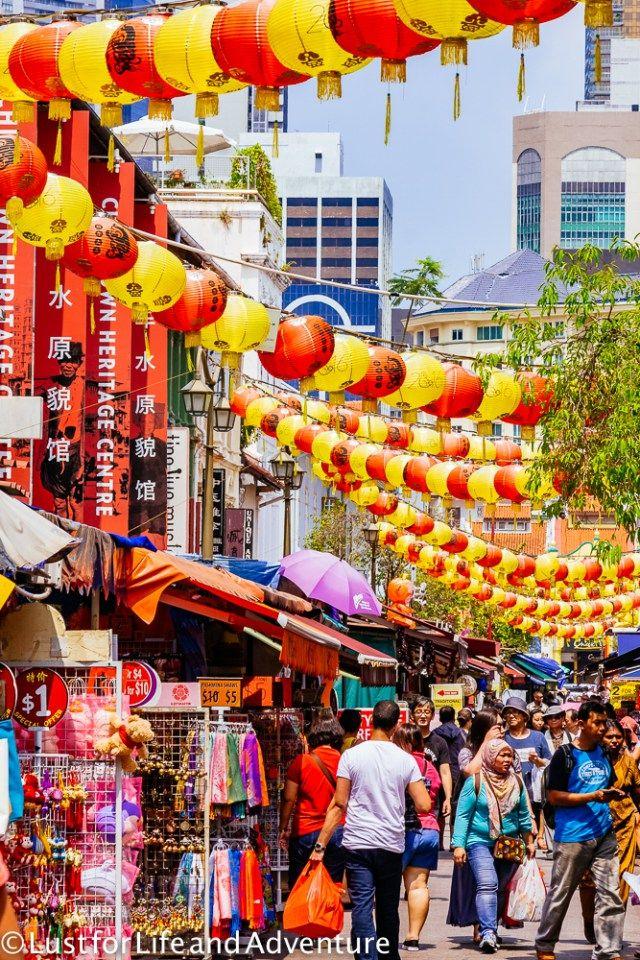 Chinatown - Singapore's tourist center.