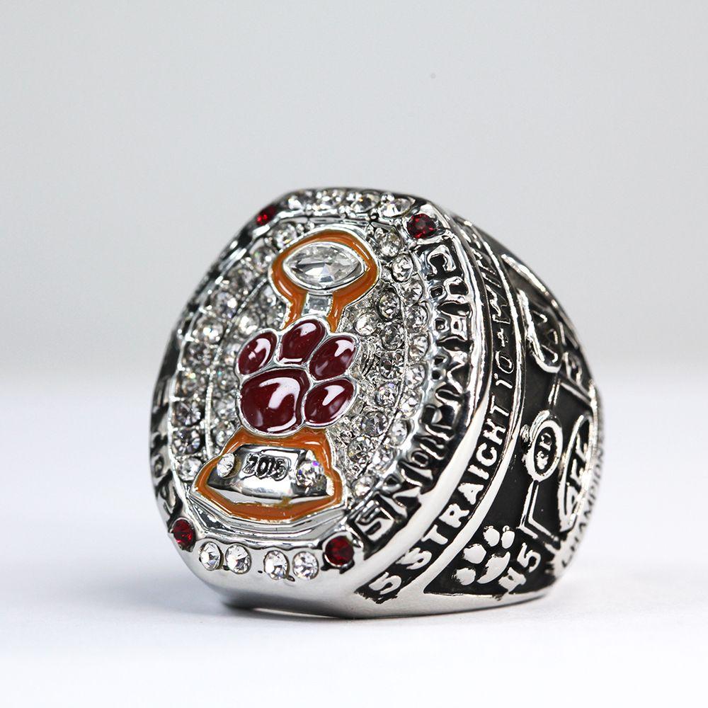 2015 clemson tigers acc football championship ring custom