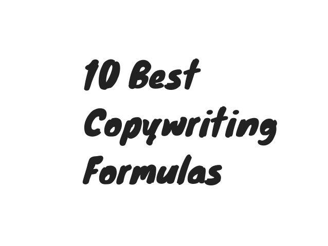 The 10 Best Copywriting Formulas for Social Media