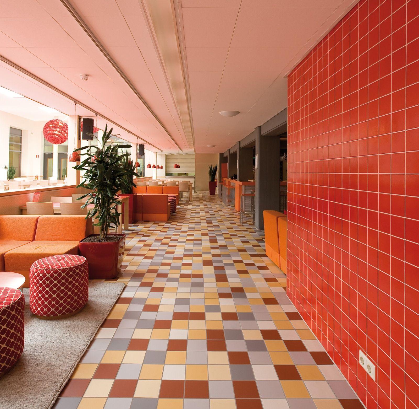 Mosa Com Rf0252 Stayokay Amsterdam Nl Mosa Mosatiles Tiles Ceramics Floortiles Interior Inspiration Design Dutchd In 2020 Design Dutch Design Retail Design