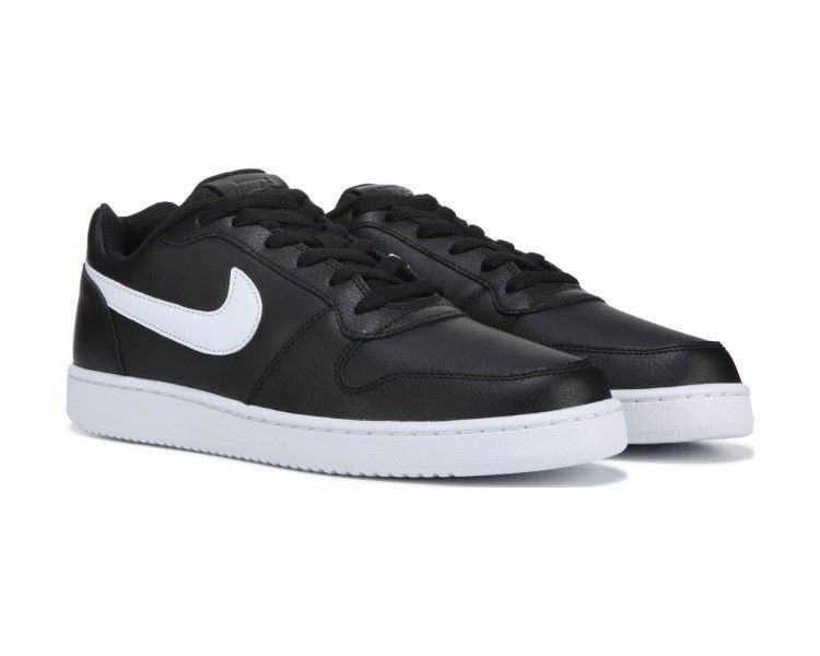763f39ffca824 NIKE EBERNON LOW BLACK WHITE AQ1775 002 MENS US SIZES #fashion ...