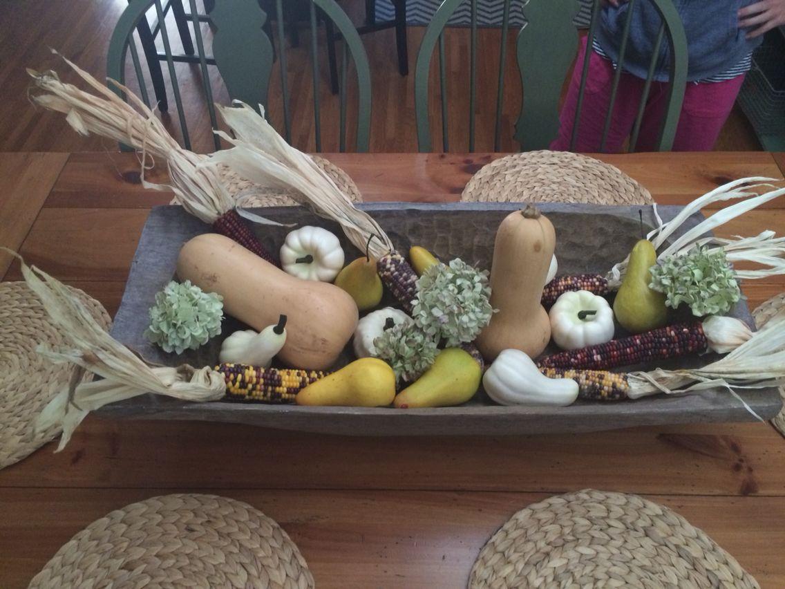 Fall dough bowl
