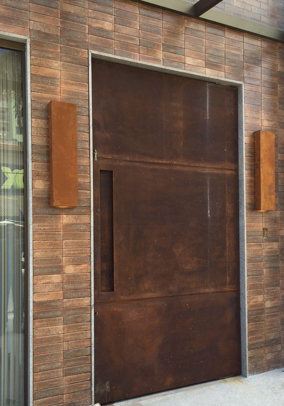 Fabricamos Qualquer Tipo De Produto Em Aço Corten Escapas Portas Portões Fachadas Patinavel