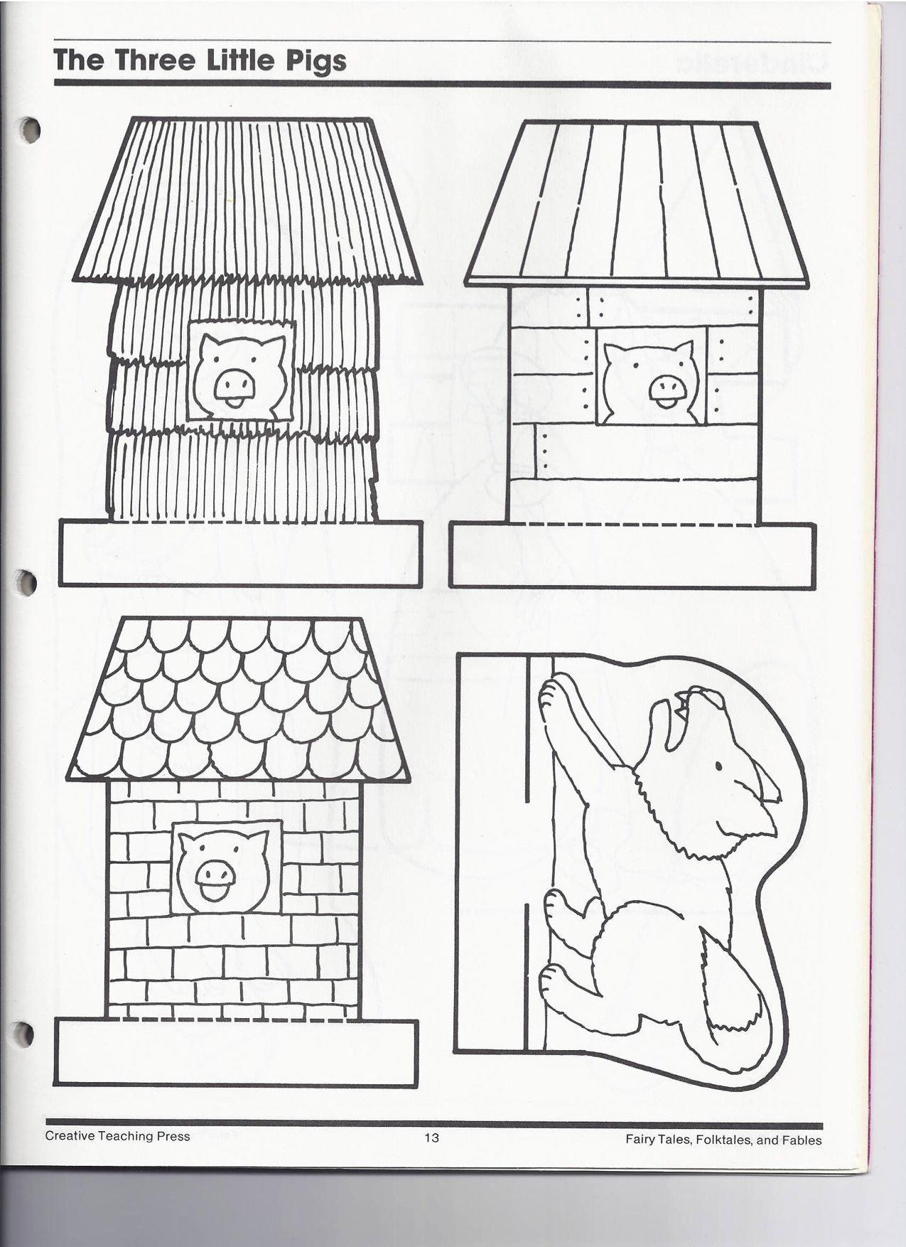 The Three Little Pigs – Three Little Pigs Worksheets