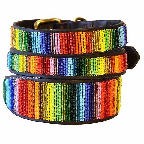 The Kenyan Collection Beaded Dog Collars I Have The Very Bottom