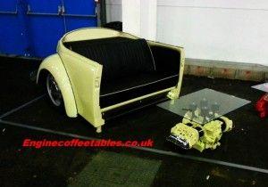 20 times auto parts were repurposed into furniture id e rh pinterest com