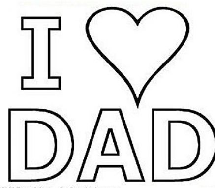 Pin by Elaine Pollock on Cc | Fathers day coloring page ...