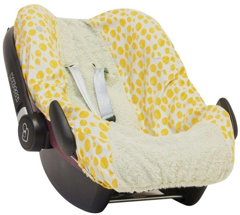 Trixie Baby Autositzbezug für Maxi-Cosi Pebble Balloon Gelb ...