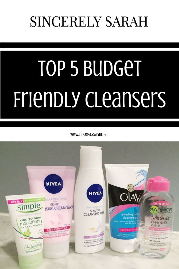 5 Budget Friendly Cleansers Top 5 Budget Friendly CleansersTop 5 Budget Friendly Cleansers