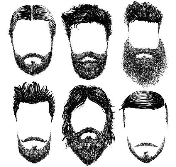 Resultado De Imagen Para Crecimiento Pelo Y Barba Dibujo Beard Drawing Beard Illustration How To Draw Hair