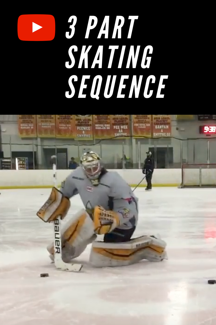 This Is A Several Part Skating Sequence With Two Elite Goalies Who