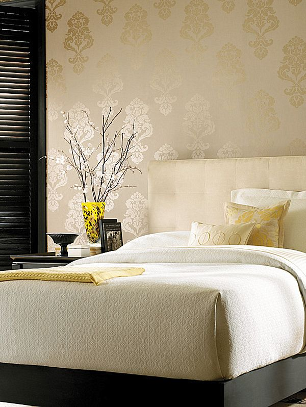 Adding Style With Patterned Wallpaper | Wallpaper, Bedrooms and ...