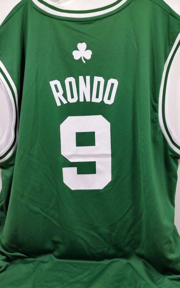 los angeles 64b56 27ab1 NBA Boston Celtics Replica Jersey Mens XXL 2XL Adidas ...