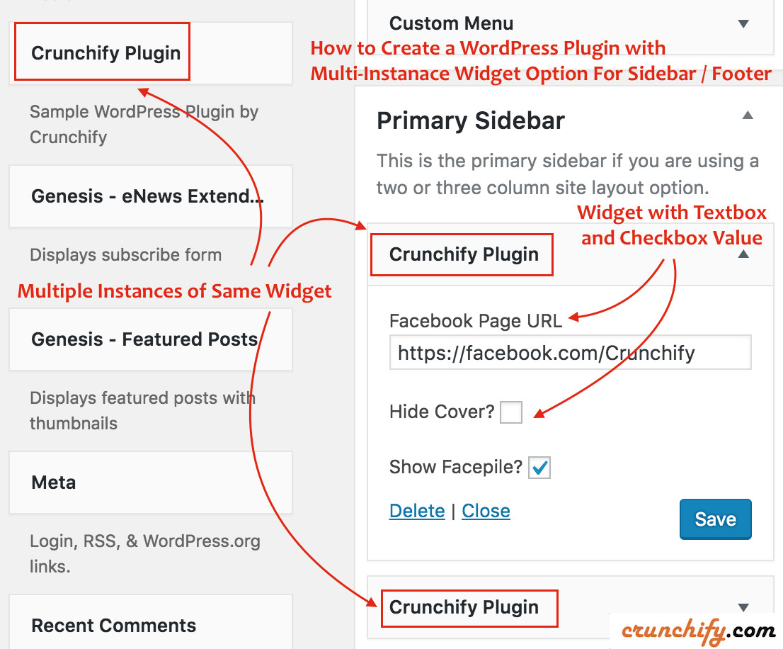 How to Create a WordPress Plugin with MultiInstance
