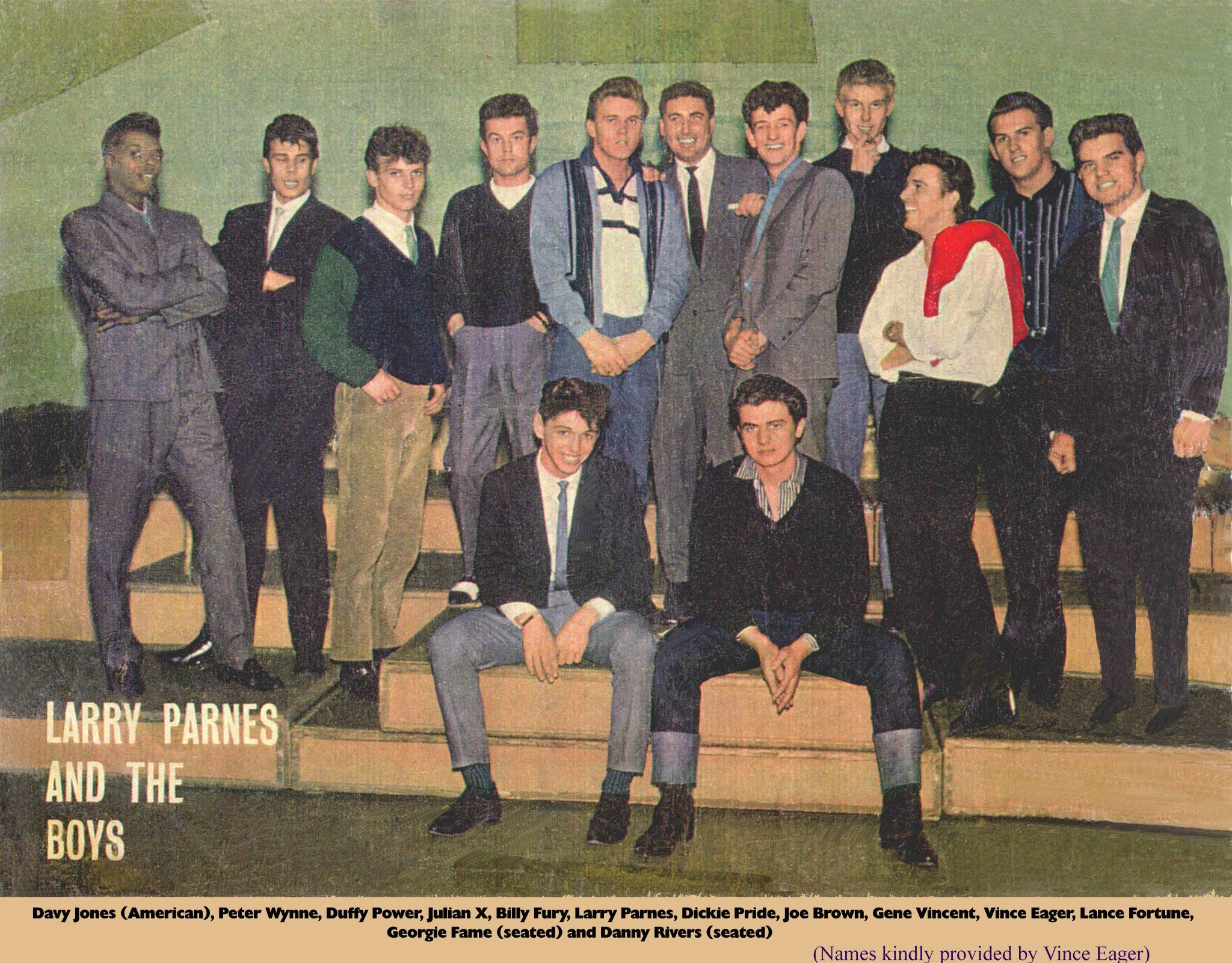 Greased Quiffs And Switchblades Growing Up Teddy Boy In: Larry Parnes And The Boys 1956