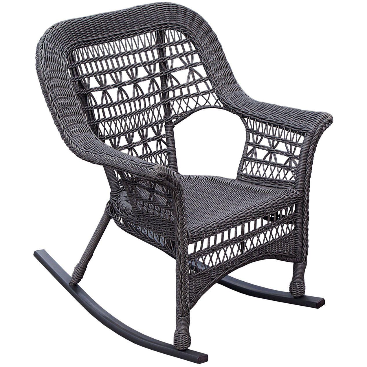 Wicker Rocking Chair Grey Wicker Rocking Chair Rocking Chair Chair