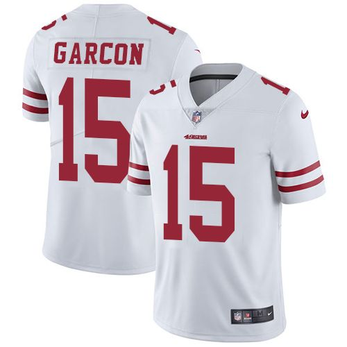 Youth Nike San Francisco 49ers #15 Pierre Garcon Limited White NFL ...