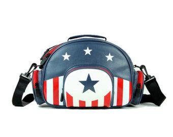 Camera Bag - Captain America Style Fashion DLSR Camera Bag